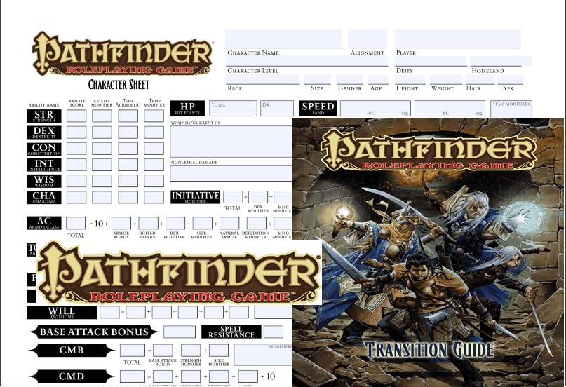 online editable pathfinder character sheet